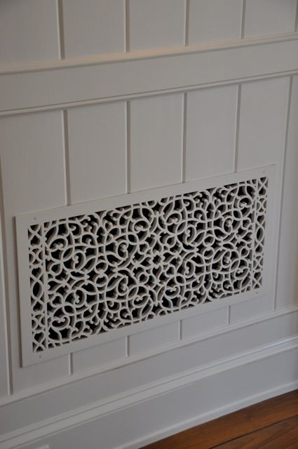 Decorative Wall Vent Covers how to make a decorative air return vent cover hvaccom Awkward Spaces Turned Functional