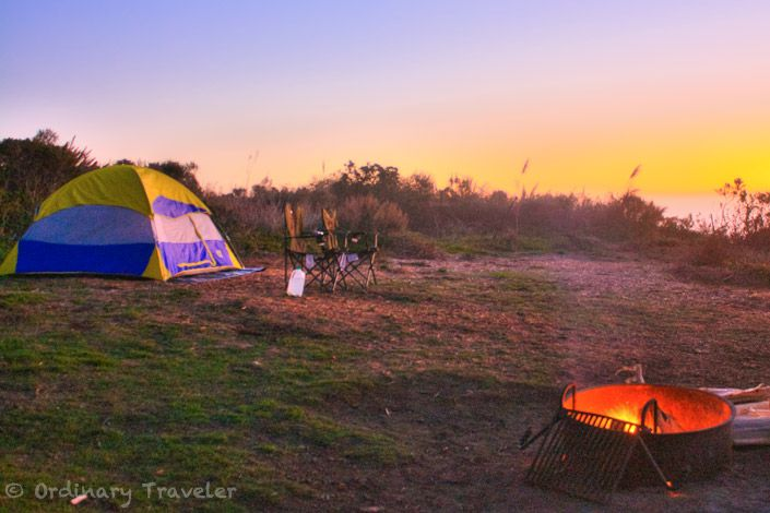 Kirk Creek Campground - sits right on the bluff overlooking the ocean, half sites are reservable, half first-come | Best Places to Camp in Big Sur, Ordinary Traveler
