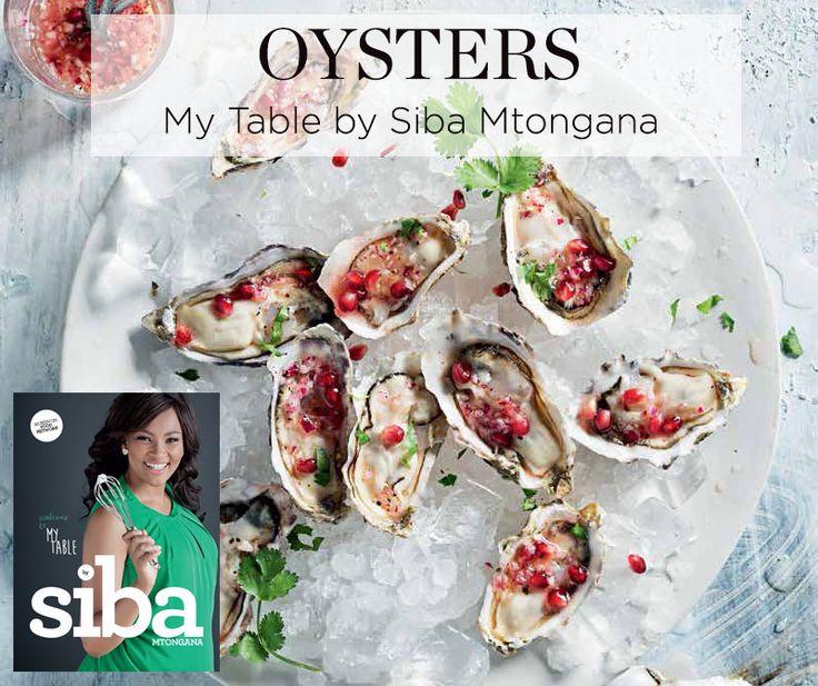 Siba Mtongana's oyster recipe