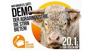 Demo: Wir haben es satt!   Diesen Samstag demonstriert in Berlin eine starke Bewegung für die Agrarwende. Auch VIER PFOTEN ist wieder dabei.  Mehr.http://www.vier-pfoten.de/themen/tierschutzpolitik/aktuell/wir-haben-es-satt/?utm_source=VIER+PFOTEN+-+Stiftung+f%C3%BCr+Tierschutz&utm_medium=email&utm_campaign=180118_InfoNL_Januar&utm_content=Mailing_12113280