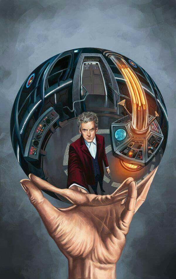 Doctor Who Meets M C Escher