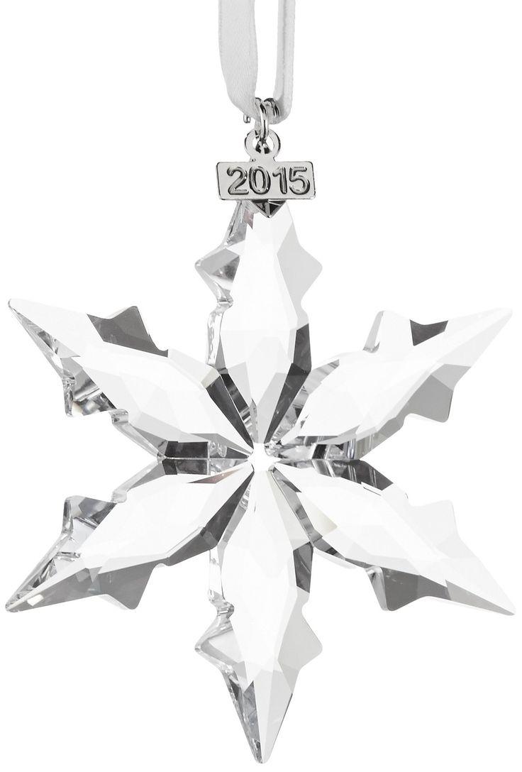 Swarovski Annual Edition 2015 Crystal Star Ornament Festive And Glamorous,  The Latest Swarovski Christmas Ornament, Annual Edition Will Literally  Become The