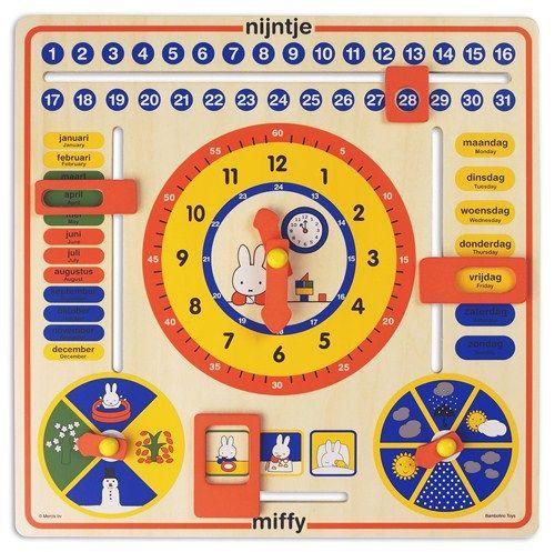 Miffy Calendar Clock