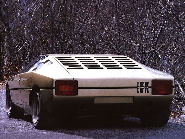 Amazing Photos Of 1974 Lamborghini Bravo Concept, The Dream-Car That Never Made It Into Production