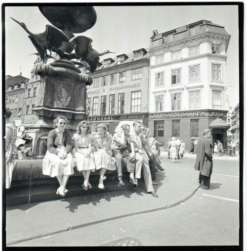 Storkespringvandet 1950erne