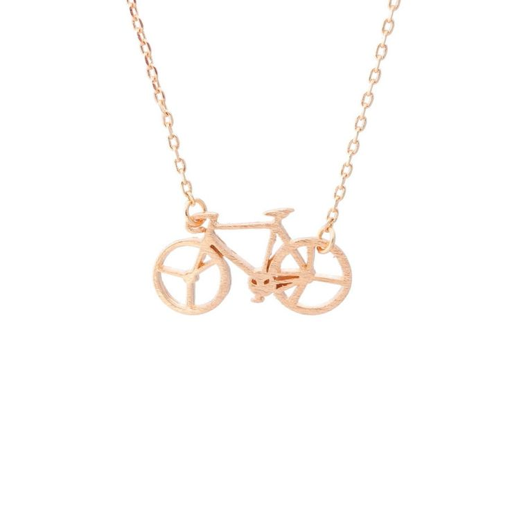 Fixie Rose Gold Necklace