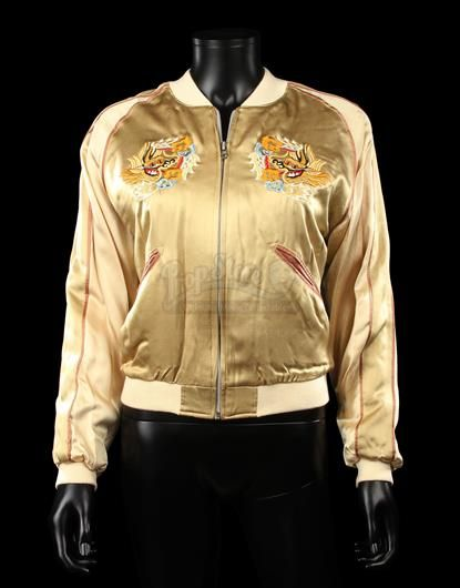 LARA CROFT TOMB RAIDER: THE CRADLE OF LIFE (2003) - Lara Croft's (Angelina Jolie) Tiger Jacket - Current price: £6500