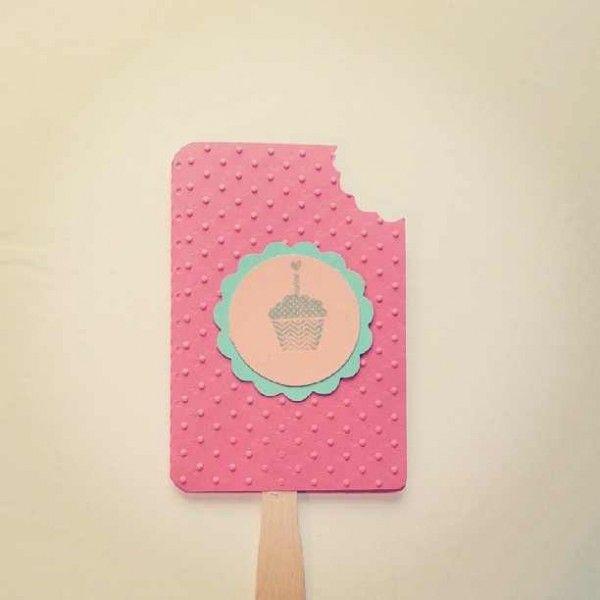 Eis am Stiel Einladungskarten