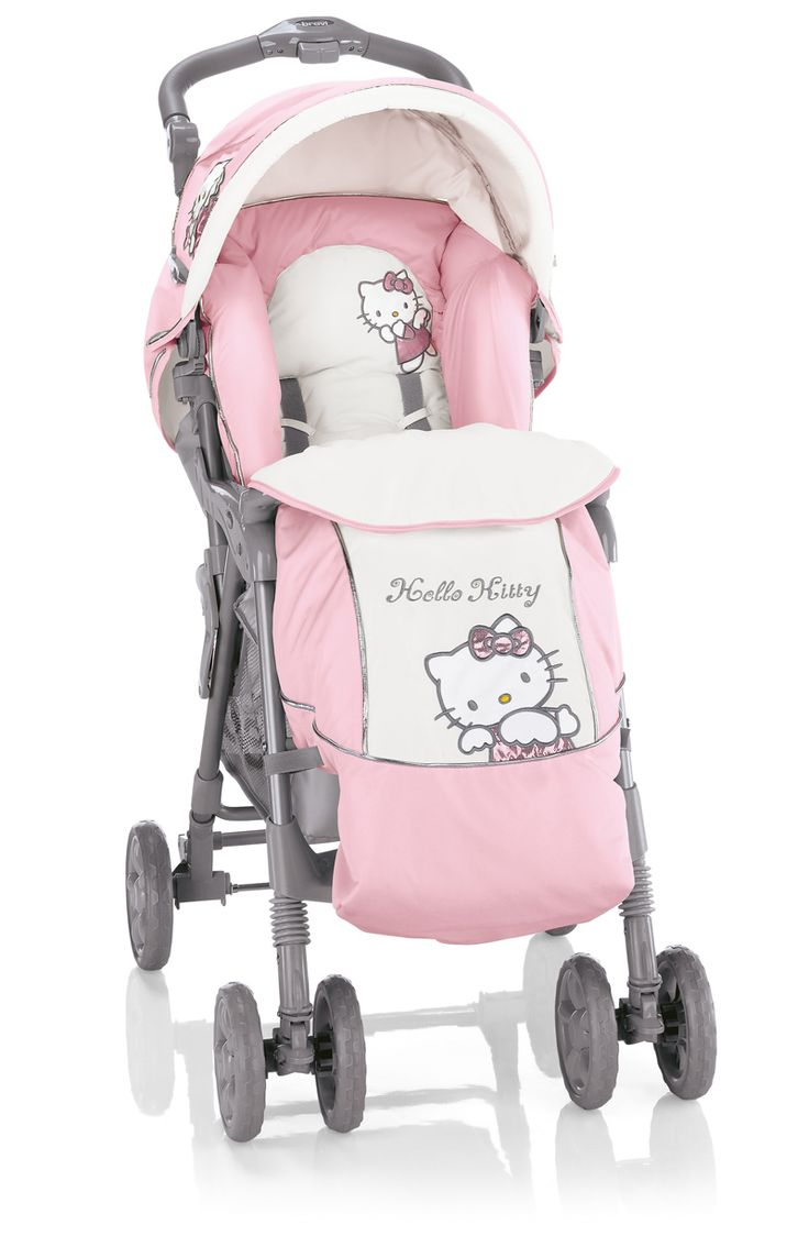 Hello kitty crib for sale - Hello Kitty Grillo 2 Stroller With Apron Raincover Available Online At Http