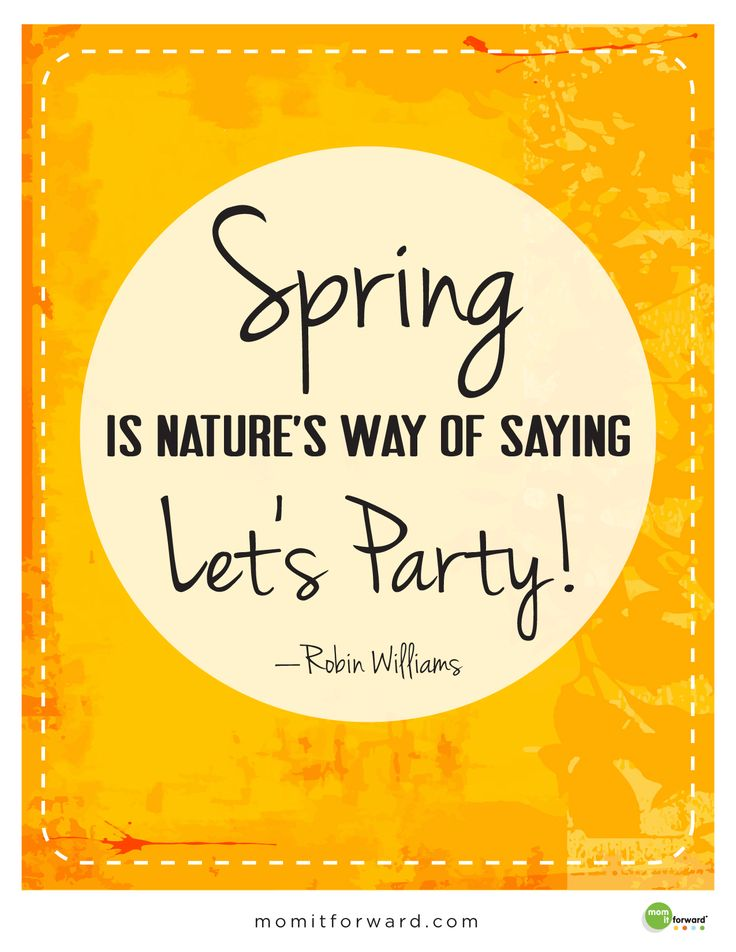 Spring is in the air. Can you smell it? Here is a fun