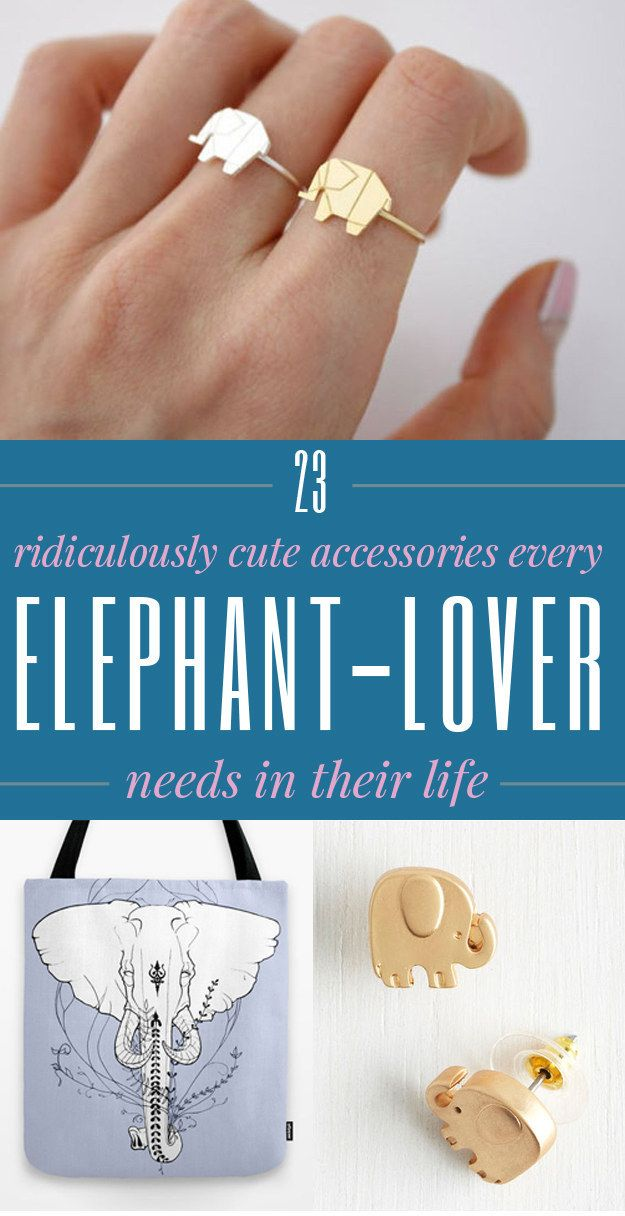 23 Super Stylish Products Every Elephant-Lover Needs To Own