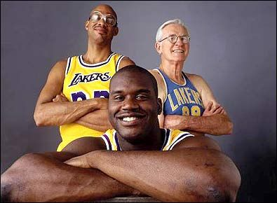 Los Angeles Lakers, history,  Southern California