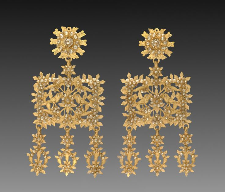 Sardinia, 18th-19th century, gold, Overall: l. 11.80 cm (4 5/8 inches). Gift of Mr. and Mrs. J. H. Wade 1916.127