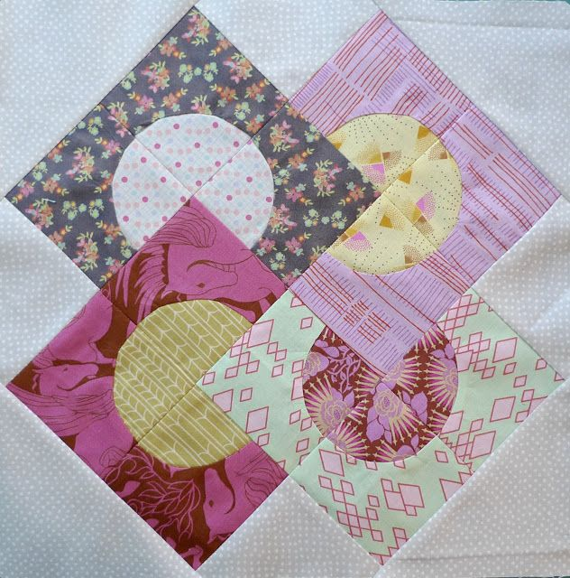 Sew Some Sunshine: Delilah Quilt - Block 1 - Rising Sun