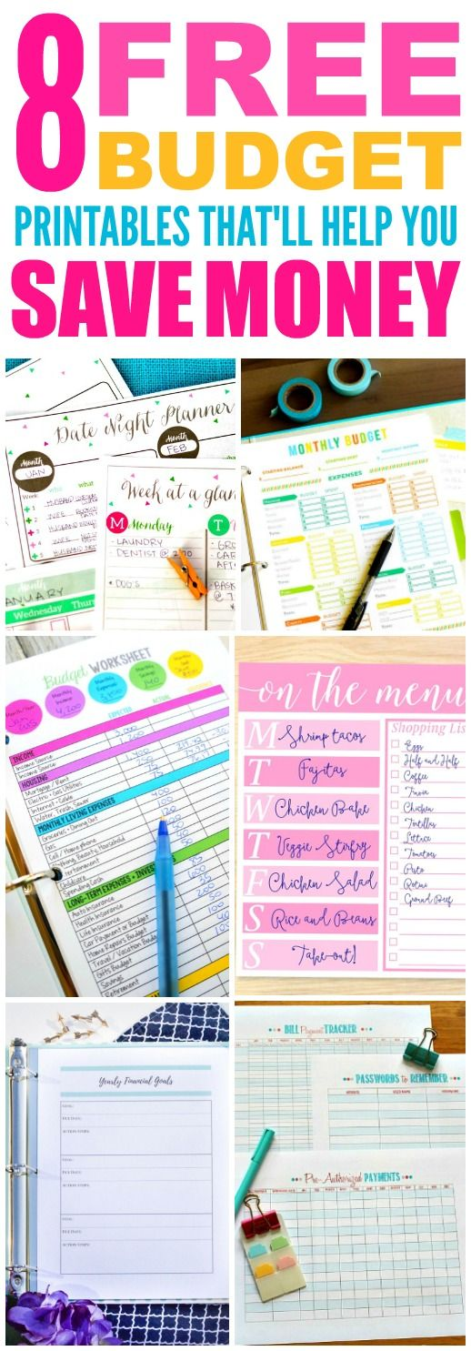 37 best budget images on Pinterest Finance, Money and Save my money - how to make a monthly budget spreadsheet