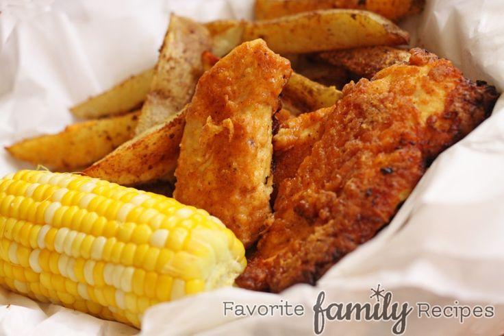 Oven Fried Chicken -- tastes like KFC!