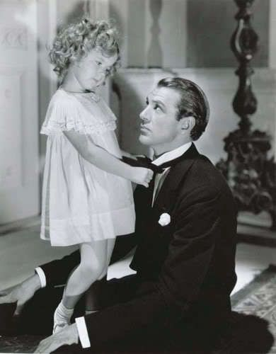 Shirley Temple and Gary Cooper. Pretty sure I saw every Shirley Temple