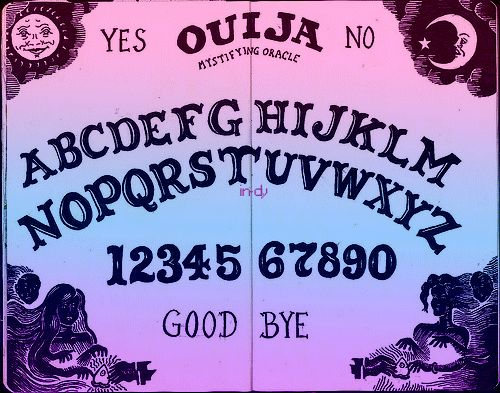 i'm kind of obsessed with ouija boards. lol