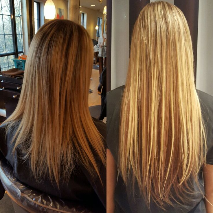 Another Color Haircut And Dream Catcher Hair Extension Application By Tina