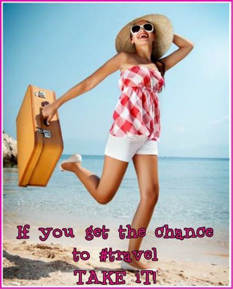 If you get the chance to #travel,   take it! ;)