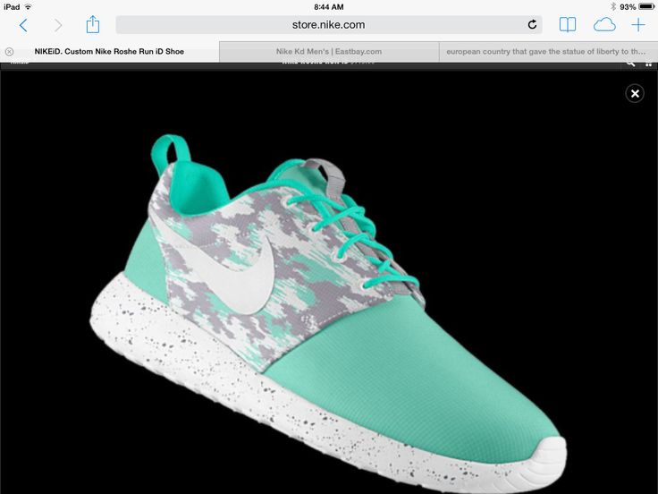 Nike Roshe Run Customized. I actually customized some just like these