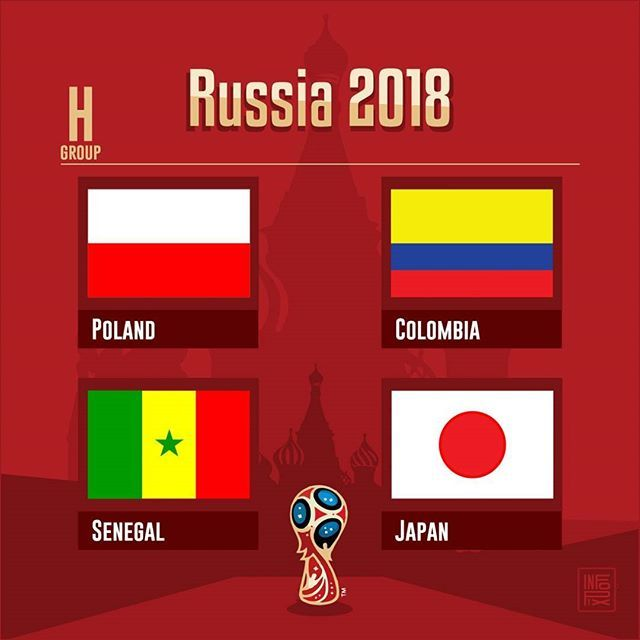 Russia 2018 Group H   #GroupH #WorldCup #Russia2018 #Poland