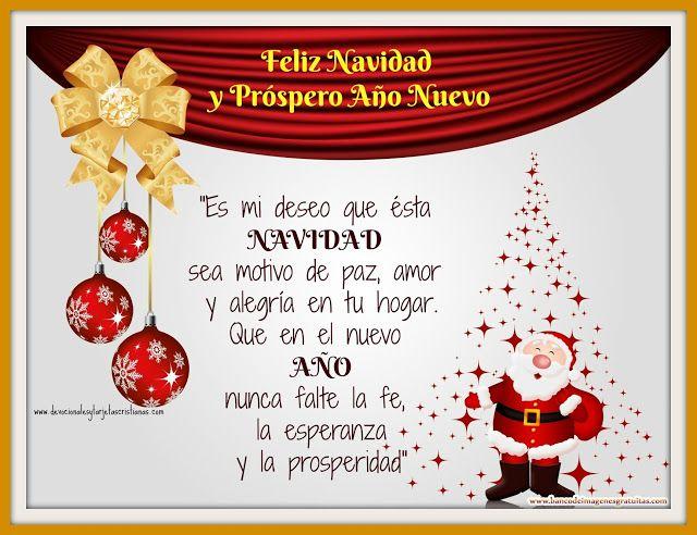 Tarjetitas de navidad y a o nuevo devocionales y - Tarjetas navidenas cristianas ...