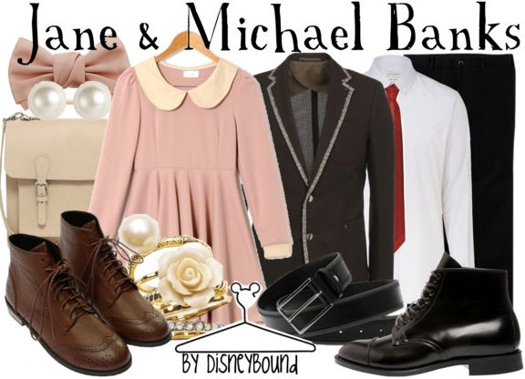 """The Banks kids, Jane and Michael from Disney's """"Mary Poppins""""!"""