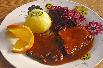Geschmorter Rinderbraten (Rezept mit Bild) von Besitos1000 | Chefkoch.de