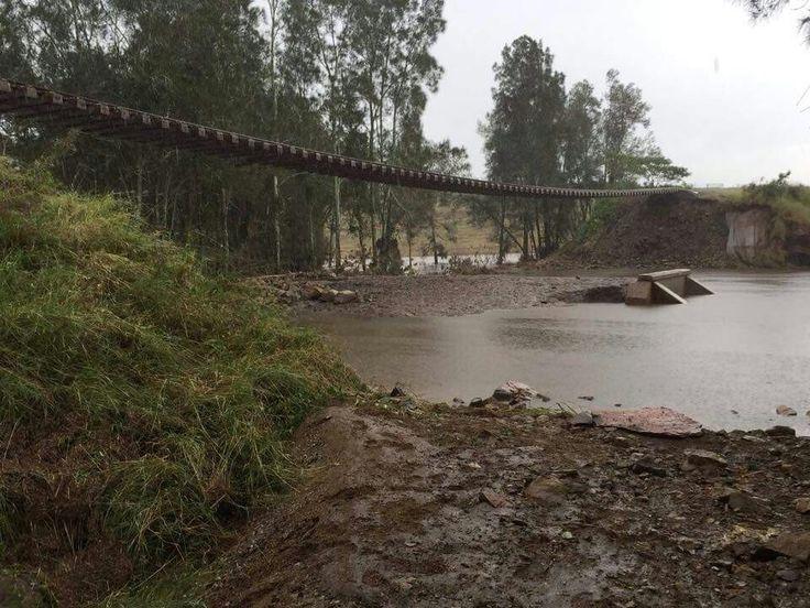 Dungog , North Coast line 2015 storm