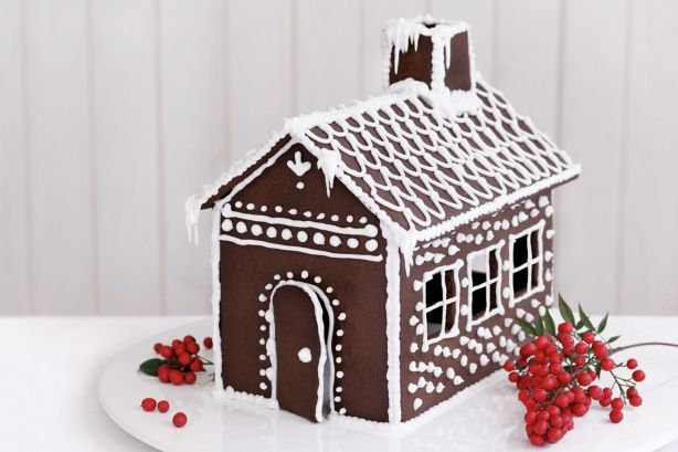 Create magical memories for the kids this Christmas with an adorable #gingerbread house!