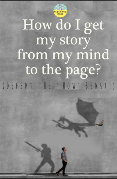 #amWriting | How do you get your story from your mind to the page?