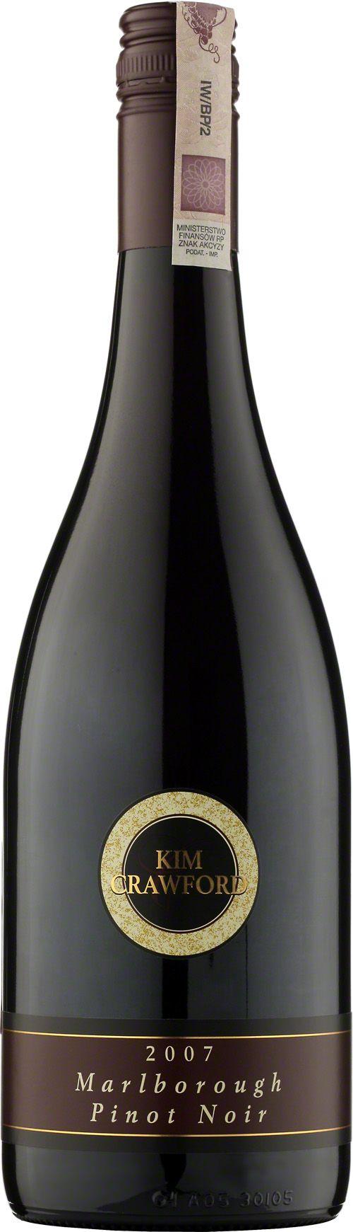 Kim Crawford Pinot Noir Marlborough Wino o rubinowo-czerwonym kolorze. Dobrze zrównoważone, z aromatami czereśni i śliwki z niuansem wanilii i dębu. #KimCrawford #PinotNoir #Marlborough #Wino #Winezja #NowaZelandia