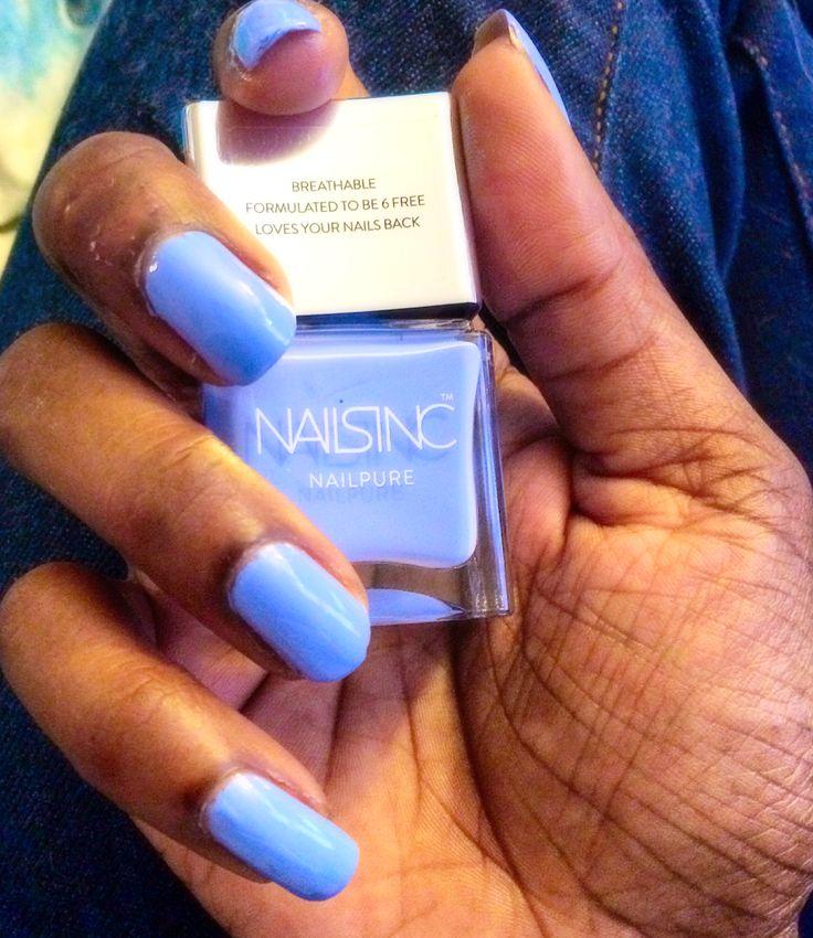 Regent's Palace Blue by ShariCallie on the #Sephora Beauty Board #Nailspotting