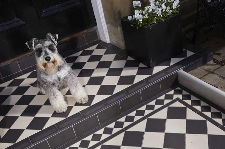 The Dorchester Pattern, Victorian Floor Tiles by Original Style