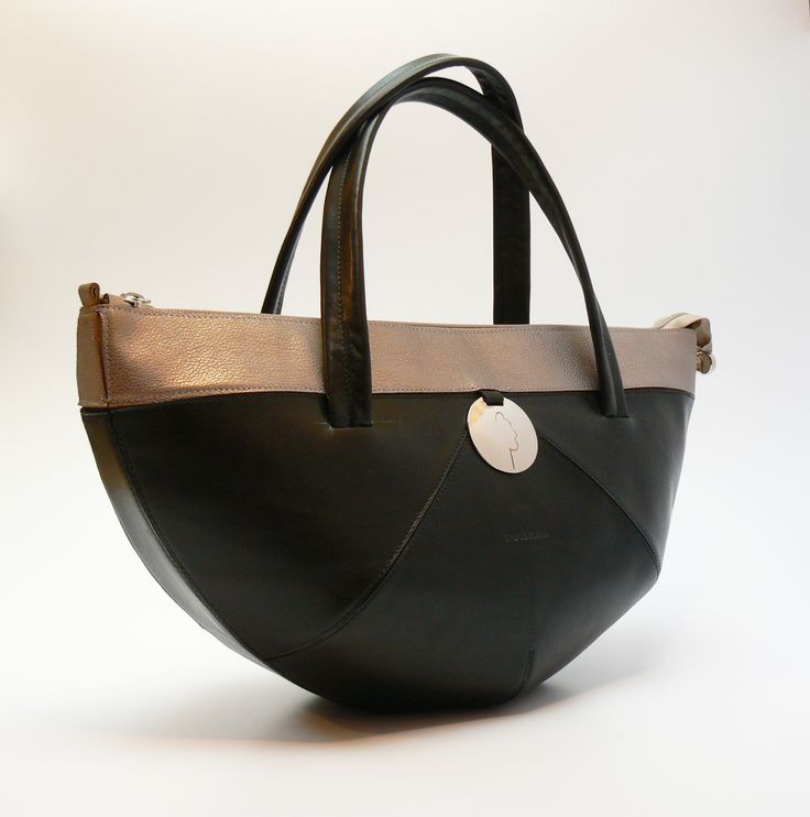 Big Boat leather handbag