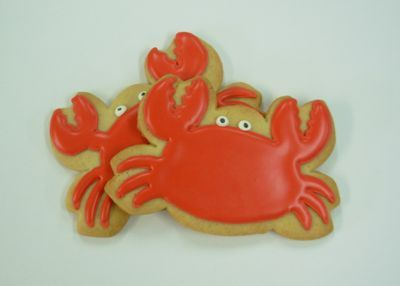 I just got a crab cookie cutter today in Cape May, NJ....thanks mom @Charlene Ward