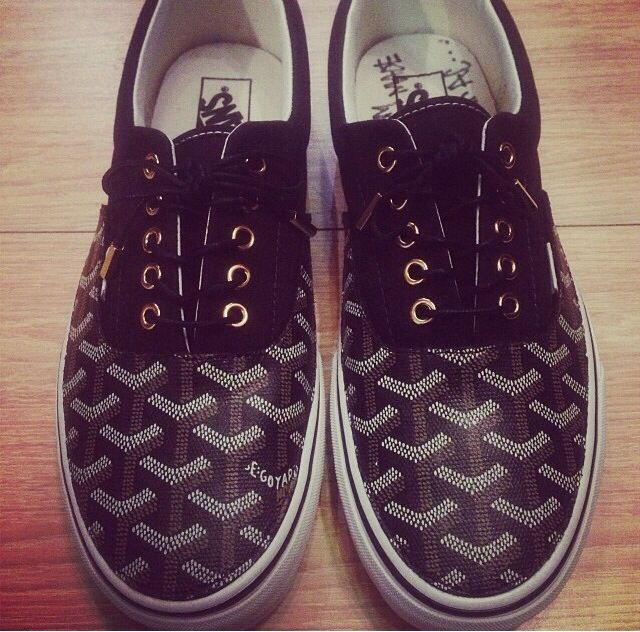 Costum made Goyard vans