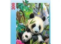 Puzzle Ursi Panda, 300 Piese | Bebeart