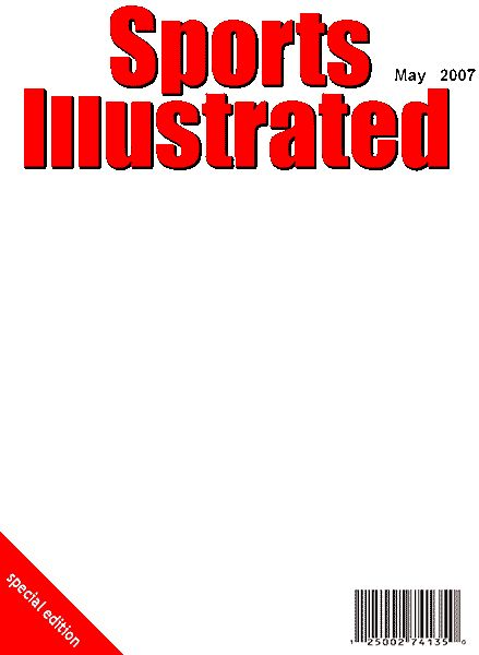 sports illustrated blank template google search in the