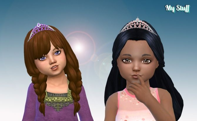 Sparkling Tiara for Toddlers at My Stuff • Sims 4 Updates