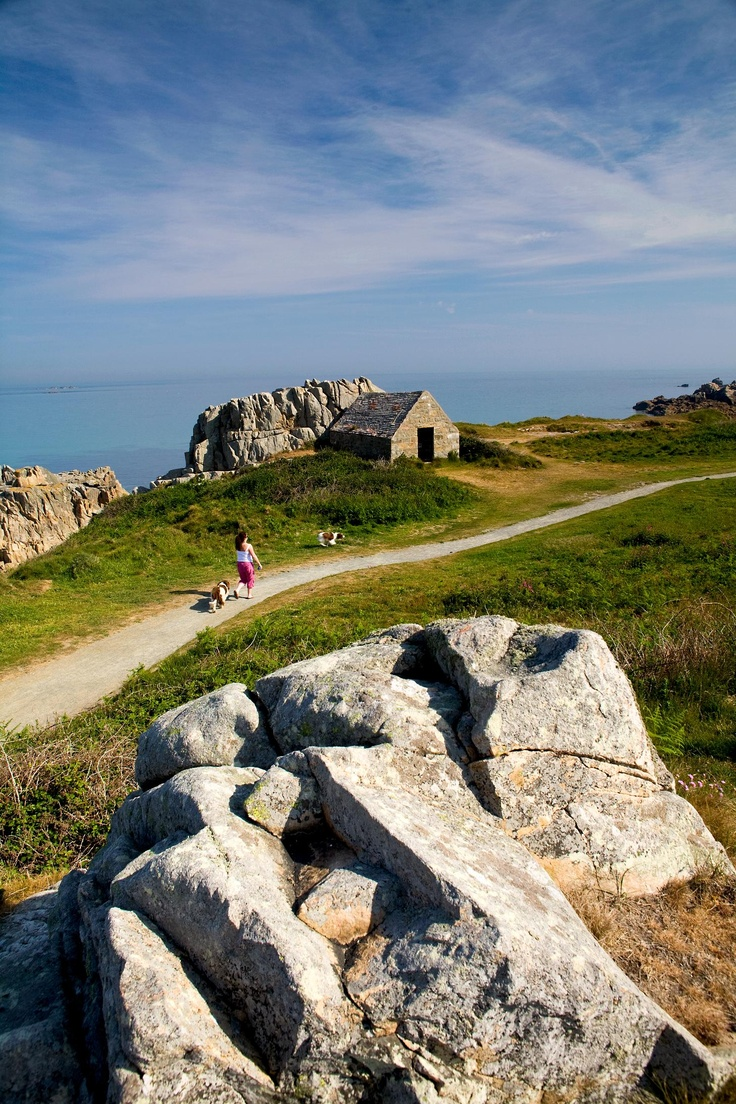 Guernsey, Channel Islands. Saw it on House Hunters International today and wished I was there