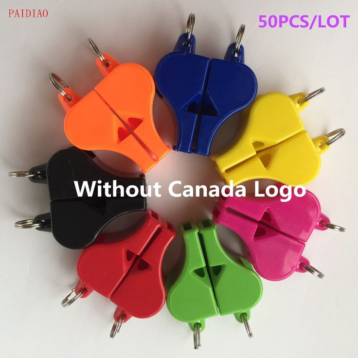 50pcs/Lot FOX40 Referee Classic Whistle Basketball Volleyball Football Tennis Dolphin Whistle Apito Without Canada Logo