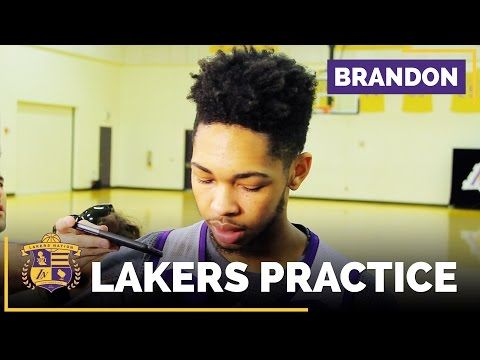 Brandon Ingram Talks Plans With Kobe Bryant & Magic Johnson Taking Over - YouTube
