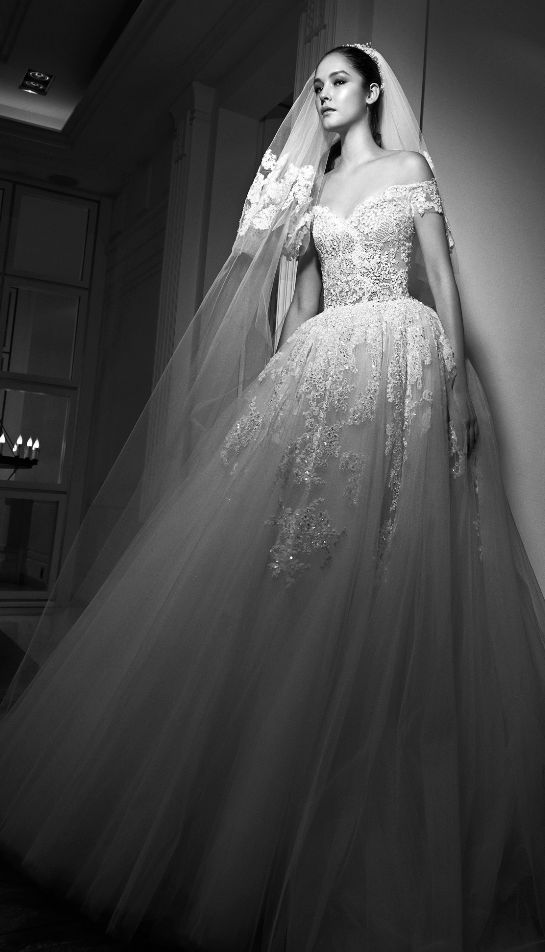 Featured Dress: Zuhair Murad; Wedding dress idea.