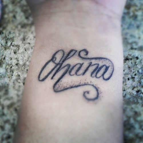 Ohana Means Family Quote Tattoo: 69 Best Images About Lilo And Stitch Tattoos On Pinterest