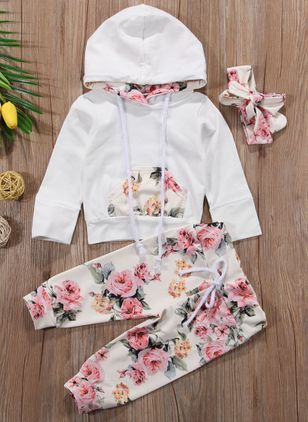 3ebdc4b4ceda Girls' Cartoon Daily Short Sleeve Clothing Sets - Floryday | Kids ...