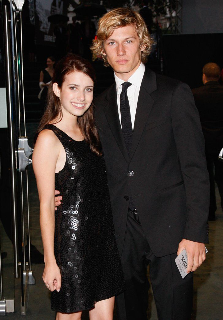 Pin for Later: 18 Actors Who Couldn't Seem to Stop Dating Their Costars Alex Pettyfer started dating Emma Roberts after they met on the set of Wild Child in 2007. They split a year later.