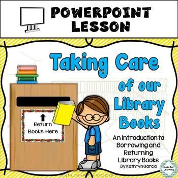 Library Skills: Taking Care of our Library Books...A Power