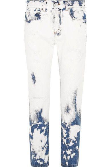 Gucci - Distressed Boyfriend Jeans - Mid denim - 27